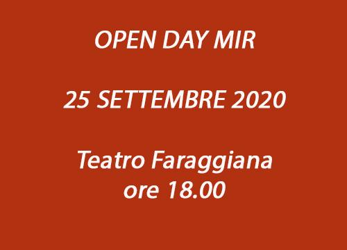 OPEN DAY MIR 2020