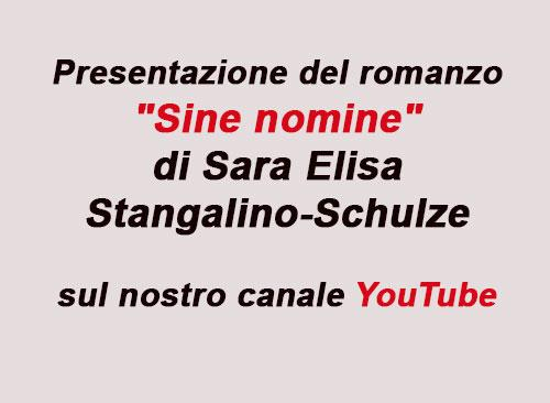 Presentazione romanzo Sara Elisa Stangalino-Schulze