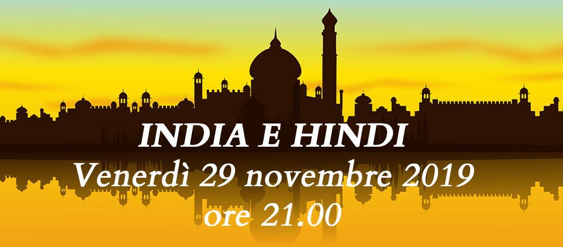 INDIA E HINDI