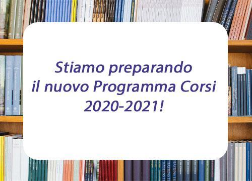 PROGRAMMA CORSI 2020-2021